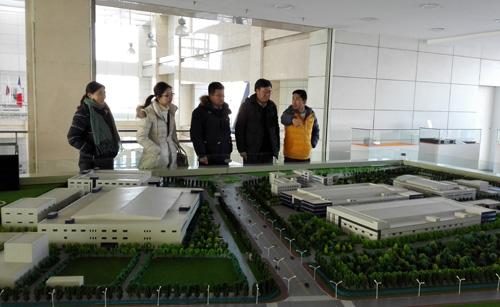 吉林省商务厅服务贸易处处长孙喜华一行到高新区指导工作图片
